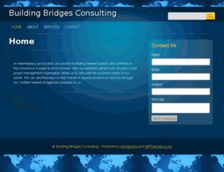 buildingbridgesconsulting.com screenshot