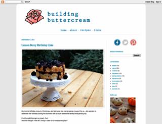 buildingbuttercream.blogspot.com screenshot