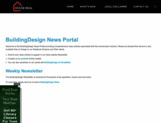 buildingdesign-news.co.uk screenshot