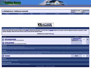 buildinghomes.ca screenshot