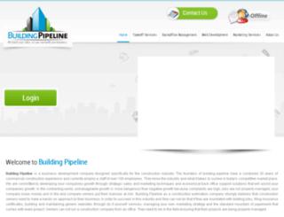 buildingpipeline.com screenshot