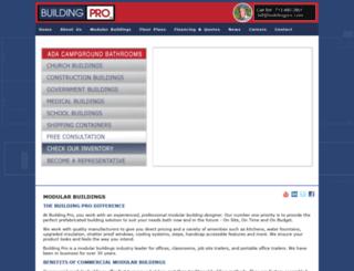 buildingpro.com screenshot