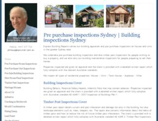 buildingreports.com.au screenshot