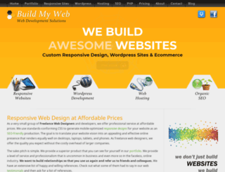 buildmyweb.org screenshot