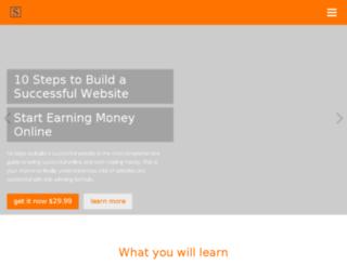 buildsuccessfulwebsite.com screenshot