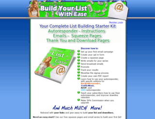 buildyourlistwithease.com screenshot