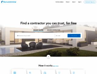 buildzoom.com screenshot