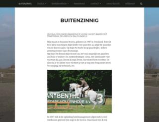 buitenzinnig.nl screenshot