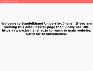 bujhansi.org screenshot