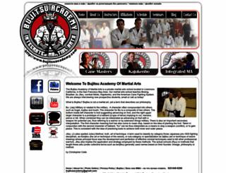bujitsuacademy.com screenshot