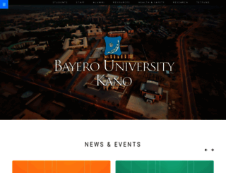 buk.edu.ng screenshot