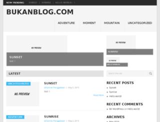 bukanblog.com screenshot