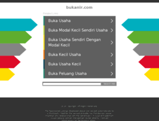 bukanir.com screenshot