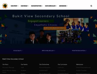 bukitviewsec.moe.edu.sg screenshot