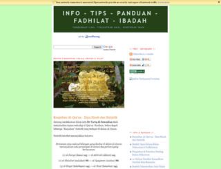 buku-agama.blogspot.com screenshot