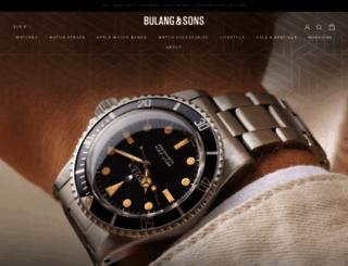 bulangandsons.com screenshot