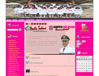 bulangoulukec.bonebolangokab.go.id screenshot