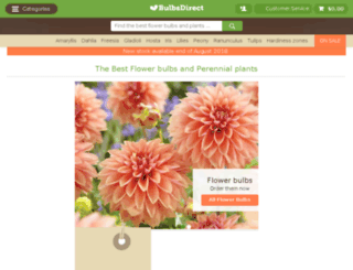 bulbsdirect.com screenshot