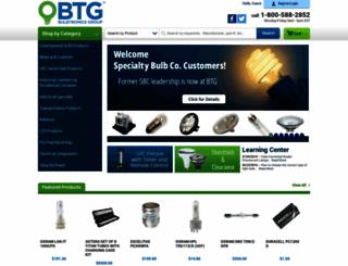 bulbtronics.com screenshot