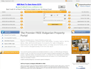 bulgariahousehunt.com screenshot