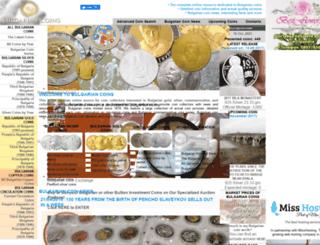 bulgariancoins.com screenshot