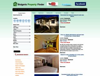 bulgariapropertyfinder.co.uk screenshot