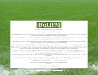 bulifm.de screenshot