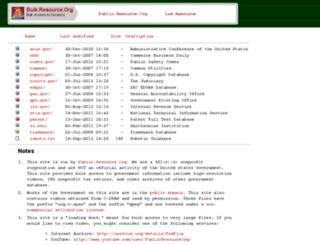 bulk.resource.org screenshot