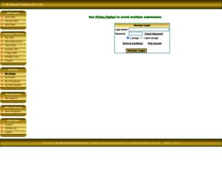 bulk.sms-india.in screenshot
