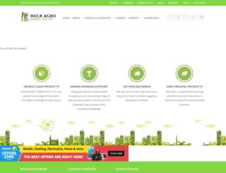 bulkagro.com screenshot