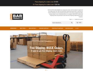 bulkbarproducts.com screenshot
