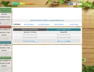 bulkfollower.us screenshot