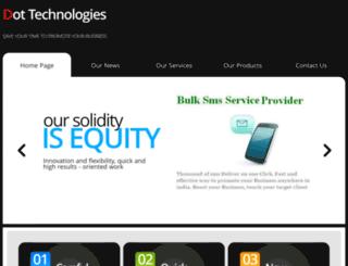 bulksms.dottechnologies.in screenshot