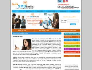 bulksmsindia.biz screenshot
