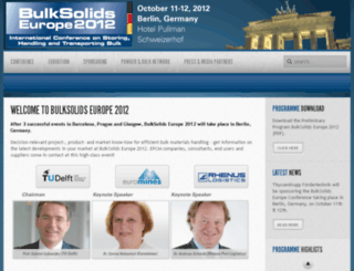 bulksolidseurope.bulk-solids-handling.com screenshot