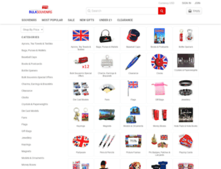 bulksouvenirs.com screenshot
