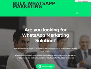 bulkwhatsappmarketing.com screenshot