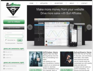 bullaffiliates.com screenshot