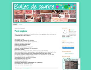 bulles-de-sourire.blogspot.fr screenshot