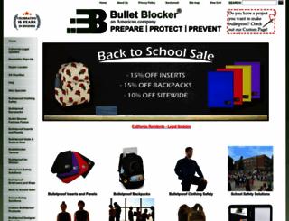 bulletblocker.com screenshot