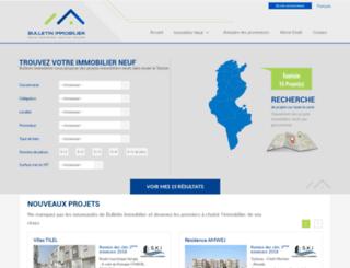 bulletin-immobilier.com screenshot