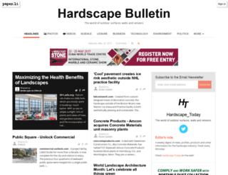 bulletin.hardscapetoday.com screenshot