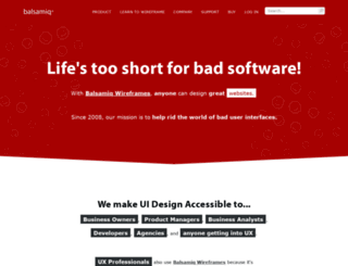 bulletin.mybalsamiq.com screenshot
