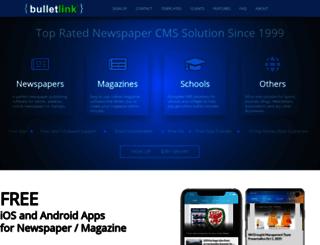 bulletlink.com screenshot