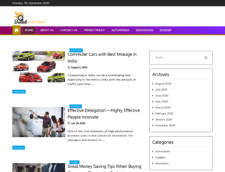 bulletmotorsport.net screenshot