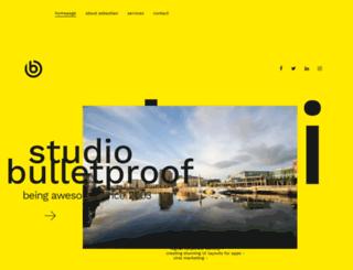 bulletproofdesign.net screenshot