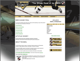 bulletshockey.ca screenshot