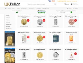 bullionuk.com screenshot