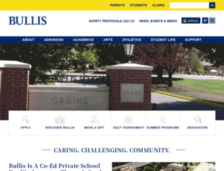 bullis.org screenshot