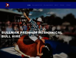 bullman.com.au screenshot